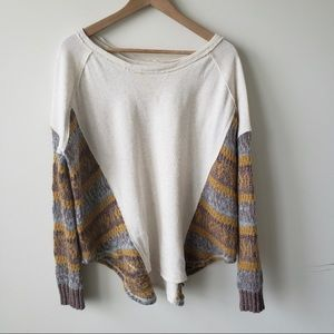 Free people beautiful sinner pullover size xs
